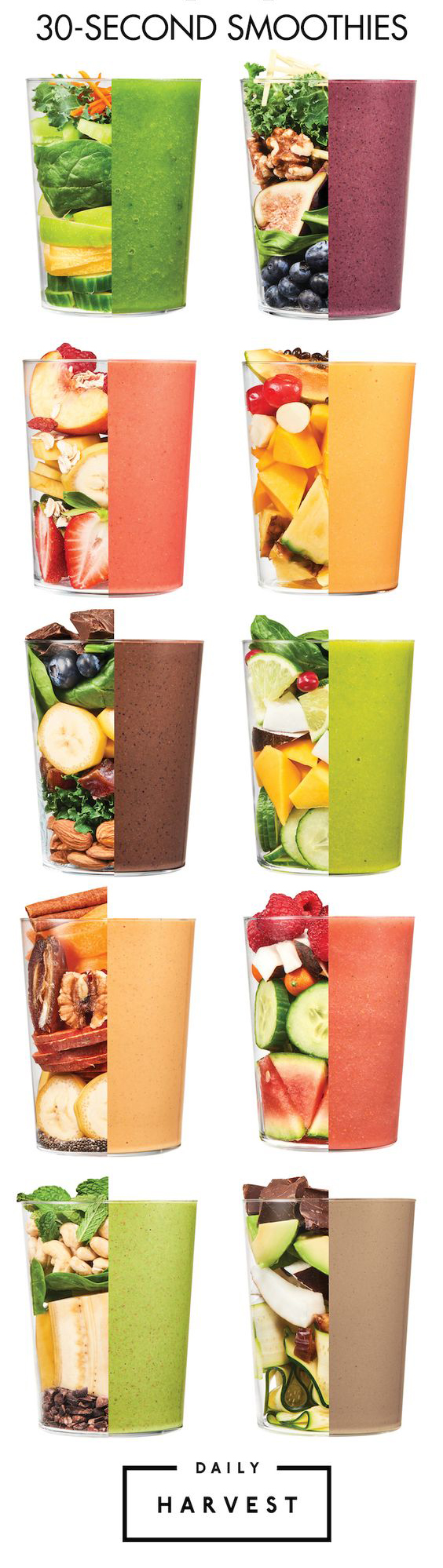 30 second smoothies
