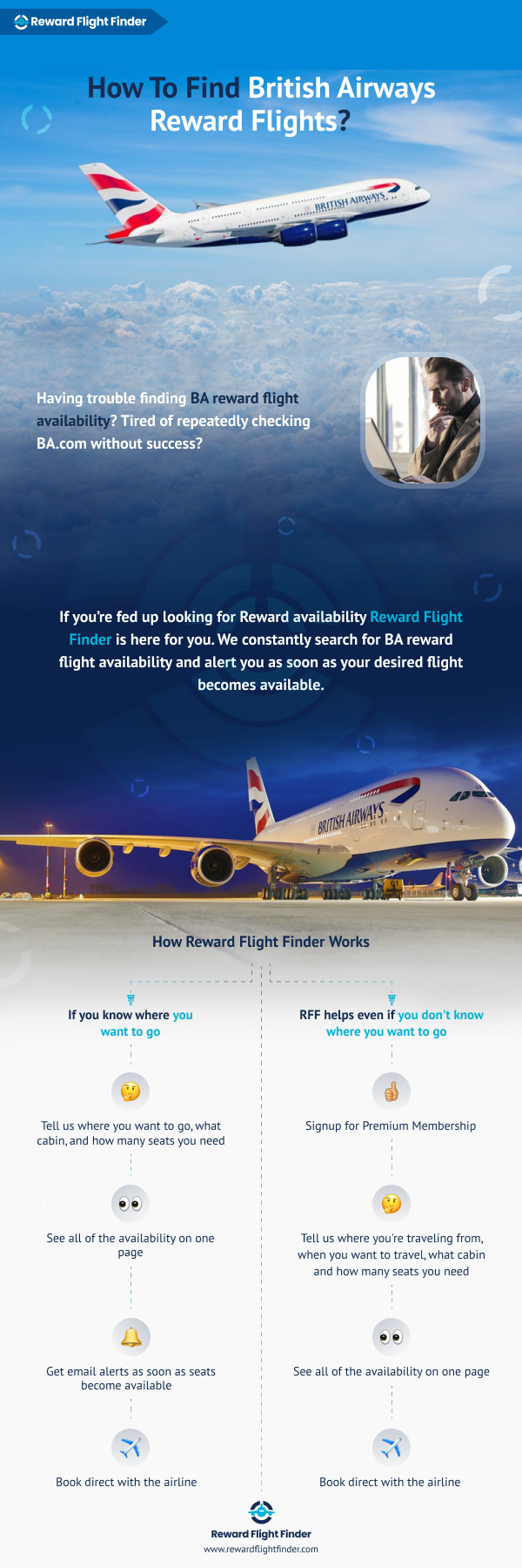 British airways reward flight