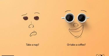 Take a nap or coffee