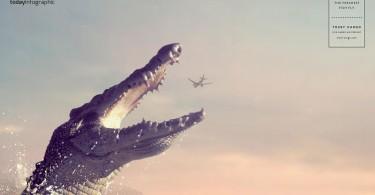 hunters-crocodile